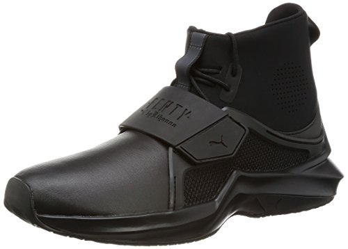 PUMA by Rihanna Fenty Trainer Hi Damen Sneaker Frauen Laufschuhe schwarz Größe 41