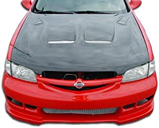 Brightt Duraflex ED-Z-096 Spyder Front Bumper Cover - 1 Piece Body Kit - Compatible With Altima 1998-2001