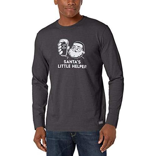 Life Is Good Men's Mens Crusher Longsleeve Shirt Mens Crusher Longsleeve Shirt