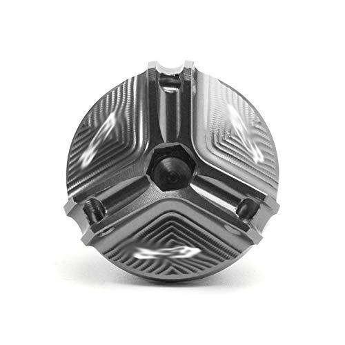 ZLLndz Tapones de llenado de Aceite M20 * 1,5 Motocicleta CNC de llenado de Aceite del Motor tapón Piezas/Fit for Suzuki GSR 250 250S 250F GSR 400 600 750 750S (Color : Titanium)