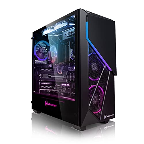 Megaport PC-Gaming AMD Ryzen 5 5600X 6x 3.70GHz • Nvidia GeForce RTX3060Ti 8GB • Windows 10 • 500GB M.2 SSD • 2TB HDD • 16GB 3000 DDR4 • WiFi
