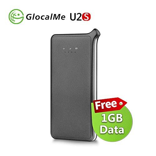 GlocalMe U2S 4G LTE High Speed Network Mobile Hotspot, Worldwide WiFi Portable Hotspot with 1GB...