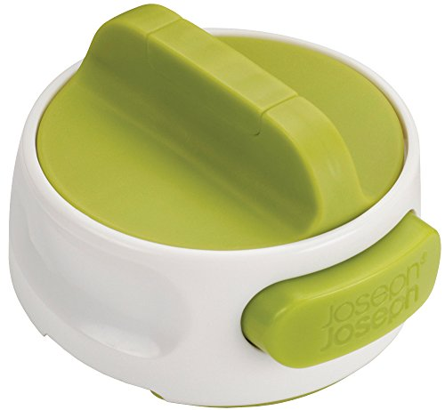 Joseph Joseph 20005 CanDo Compact Can Opener Easy Twist Release Portable SpaceSaving Manual Stainless Steel Green