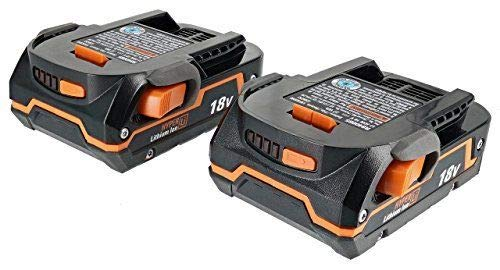 Ridgid (2) 18-Volt X4 Hyper Lithium-Ion Battery (Bulk Packaged)