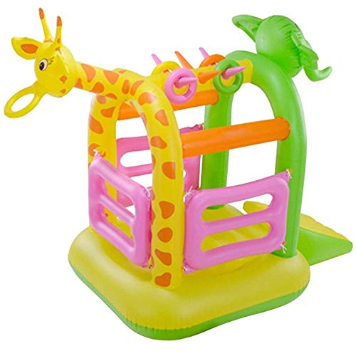 SSeir Castillo Inflable Niños Inflable Castillo Inflable Bouncer Playhouse Playero Interior Trampoline Obstáculo Diapositivas Oxford Paño con el soplador Castillo