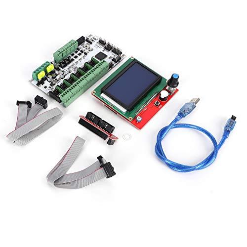 Jeanoko 32-Bit-Prozessor der Rumba-Steuerkarte des Kühlkörper-Motherboards mit Speicherkapazitätsprogramm für 3D-Drucker