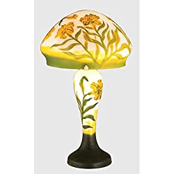 """Meyda Lighting 31038 18""""H Galle Day Lily Accent Lamp"""