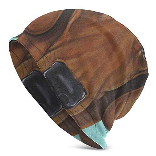 XCNGG Unisex Slouchy Beanie Stretchy Warm Knit Cap Übergroße Baggy Skull Cap