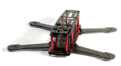MissBirdler C250 H250 ZMR250 carbon fiber frame kit FPV quadcopter for FPV Flying, Quad Racing, LOS, FPV-Racing