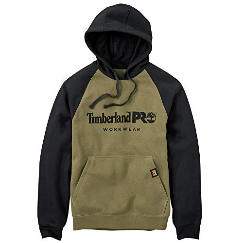 Timberland PRO Herren Kapuze Honcho Sport Pullover Hoodie - Grün - XX-Large