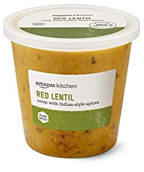 Amazon Kitchen, Red Lentil Soup with Indian-Style Spices, 24 oz