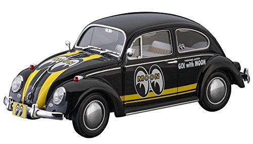 Hasegawa 0203381/24Volkswagen Escarabajo Type 1, mooneyes plástico Maqueta de, Modelo Ferrocarril Accesorios, Hobby, de construcción