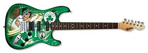 NBA Boston Celtics NorthEnder Guitar, 39-Inch x 13-Inch, Maple