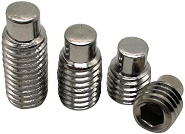 half Screw 100Pcs M3 M4 M5 Special Campaign M6 M8 Screws Stainless Set DIN91 Steel 304