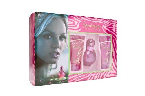 Britney Spears Fantasy femme / woman, Eau de Parfum Vaporisateur / Spray 30 ml, Duschgel 50 ml, Bodylotion 50 ml, 1er Pack (1 x 80 ml)