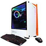 CyberpowerPC Gamer Xtreme Liquid Cool Gaming PC, Intel Core i7-10700K 3.8GHz, 16GB DDR4, NVIDIA GeForce GTX 1660 Super 6GB, 500GB PCI-E NVMe SSD, 2TB HDD, WiFi Ready & Win 10 Home (GLC6400CPGV2 White)