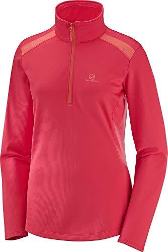 Salomon Sweatshirt 1/4 Zip Femme Discovery LT