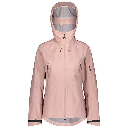 Scott W Explorair 3L Jacket Pink, Damen Dermizax™ Windbreaker, Größe S - Farbe Pale Purple