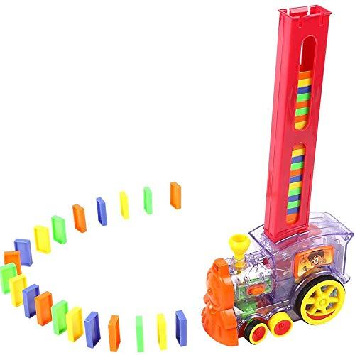 Domino auto puzzel, elektrisch treintje set automatisch Domino Toys,Red