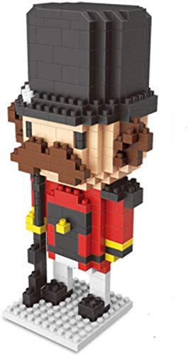 FJJF Micro Bloque De Construcción Soldado Personaje De Acción Figuras De Acción Montaje Juguetes Niños Inteligencia DIY Toys Regalo,C