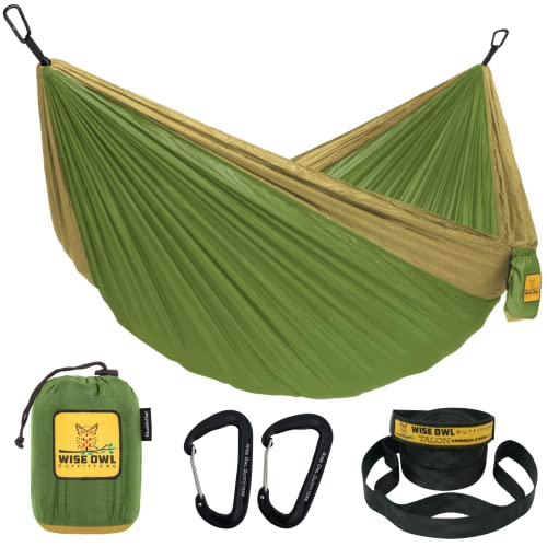 Product Image of the Wise Owl Outfitters Hammock for Camping Single & Double Hammocks Gear for The...