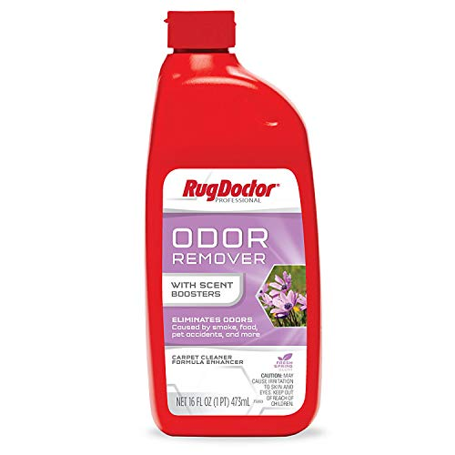 Rug Doctor Professional Odor Remover Soft Surface Cleaner with Scent Boosters, Eliminates and Neutralizes Odors on Carpet, Upholstery, and Other Soft Surfaces, 16 oz