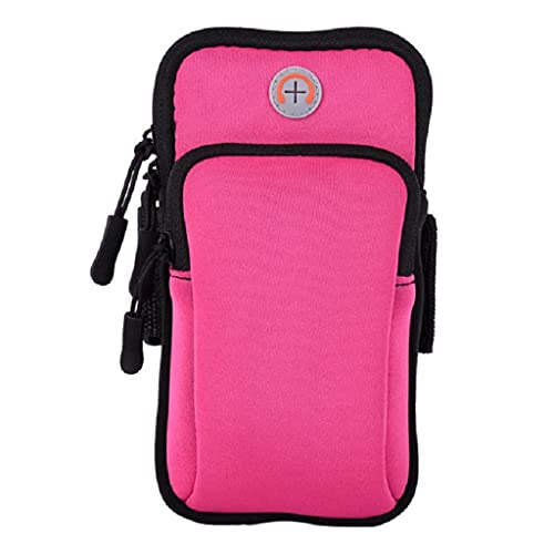 CXGZZM Universal 6'Brazalete Para Correr Funda Para Teléfono Soporte Para Teléfono Bolsa Para Correr Fitness Gimnasio Brazalete (Color : Pink, Size : One size)