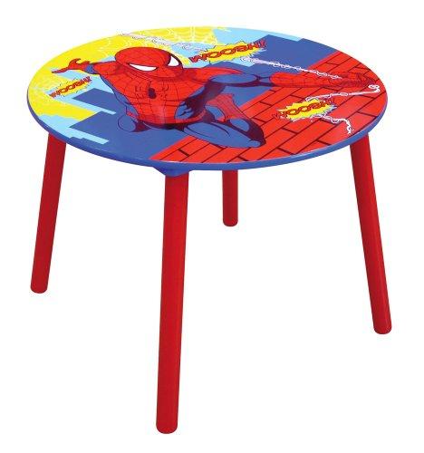 Jemini - 711870 - Ameublement Et Décoration - Table Ronde En Bois - Spiderman