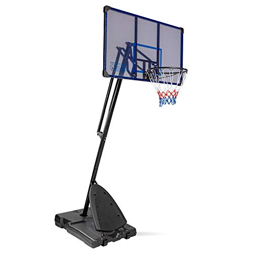 MaxxToys - Canasta de baloncesto con ruedas para baloncesto (altura de la cesta: 200 – 305 cm)