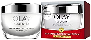 Olay Regenerist Advanced Anti-Ageing Revitalizing Hydration Cream Moisturizer, SPF15 UVA/UVB, 50g