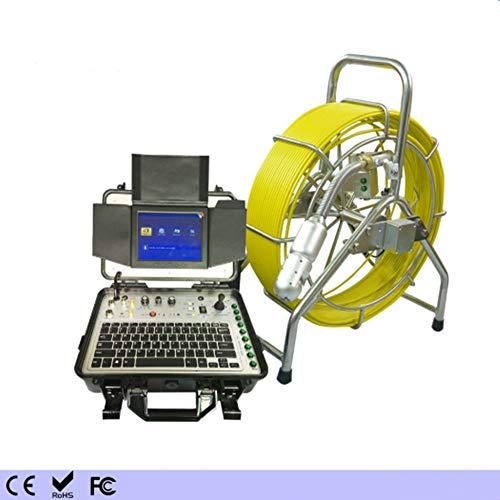 GW Control Remoto Pan/Tilt alcantarillado tubería inspección cámara alcantarillado Video inspección CCTV cámara con DVR 60m Cable