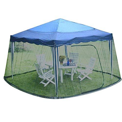 Cubierta de sombrilla para patio Pantalla de mosquitero - Pantalla de malla de mesa de sombrilla para jardín al aire libre Cubierta de mosquitera para sombrilla Cubierta de red para insectos para glo