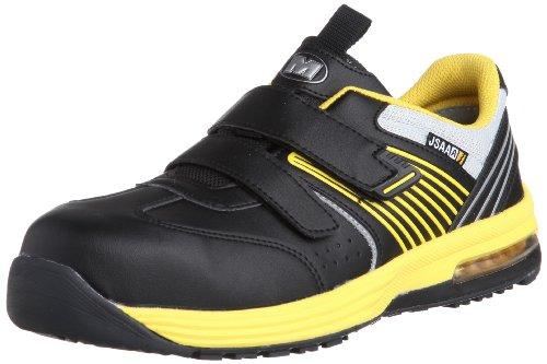 [ミドリ安全] 安全作業靴 JSAA認定 静電気帯電防止 耐滑 マジックタイプ プロスニーカー ISA805 メンズ イエロー 30.0(30cm)