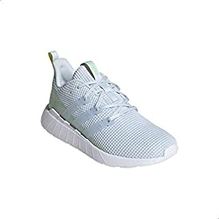Adidas Questar Flow Textile Three Side Stripe Front Logo Lace-up Sneakers
