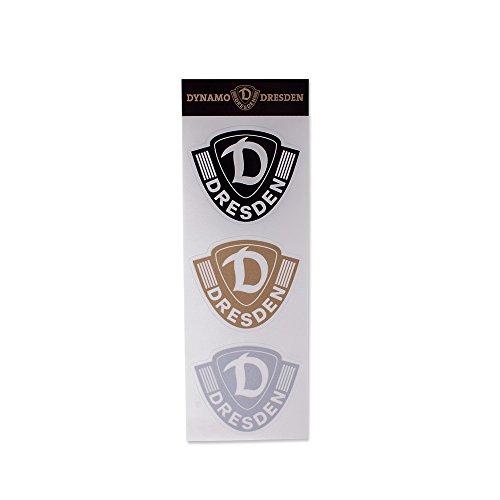 SG Dynamo Dresden Aufkleberkarte 3er Logo