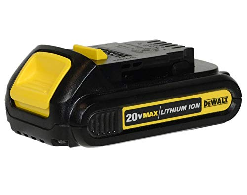 De-Walt DCB207 20V 20 Volt MAX Lithium-Ion Battery Pack, Black
