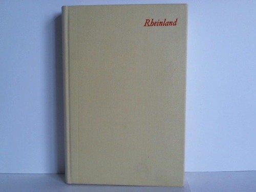 Handbuch der deutschen Kunstdenkmäler. Nordrhein-Westfalen. Bd. 1. Rheinland.