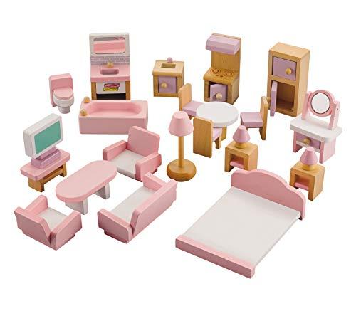 NextX Wooden Dolls House Furnitu...