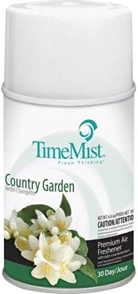TimeMist 1042786CT Metered Dispenser Country Garden Refill 12EA