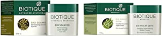 Biotique Unisex Sustainable Set of Nourishing Night Cream & Anti-Fatigue Eye Gel