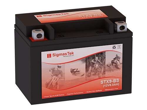 CTX9-BS FP Motorcycle Battery (Replacement)
