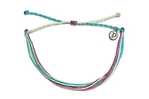 Pura Vida Jewelry Bracelets Good Vibes Anklet 100% Waterproof and Handmade w/Iron-Coated Copper Charm
