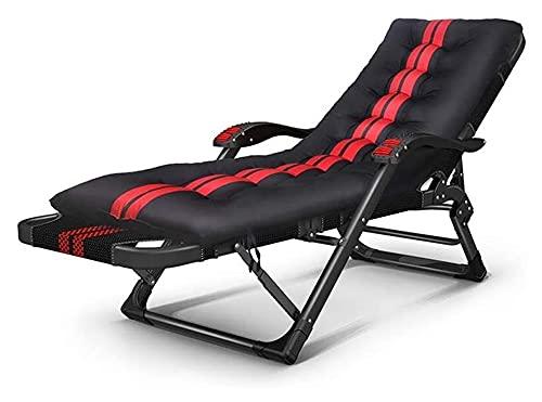 ZOUJIANGTAO Pieghevole Sedia reclinabile Sedia per Il Tempo Libero Soggiorni a gravità Poltrona Pieghevole con braccioli per Massaggi per Viaggi Beach Camping (Color : C, Size : 178x67x33cm)