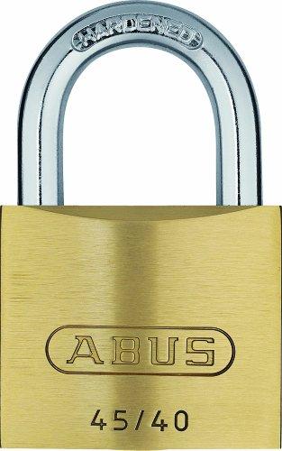 ABUS Messing-Vorhangschloss 45/40 Quads Set-4-Stück gleichschließend, 11826
