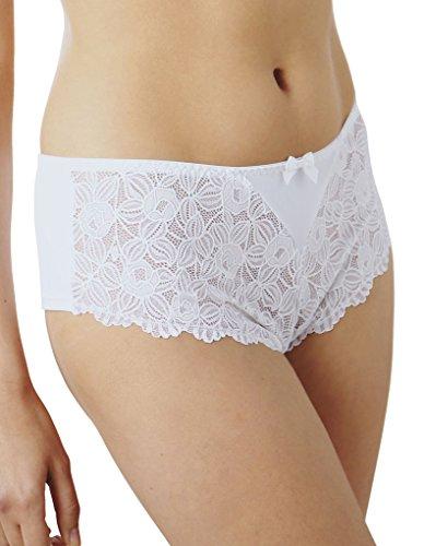 Guy de France 10218-D Women's White Hipster Underwear XX-Large