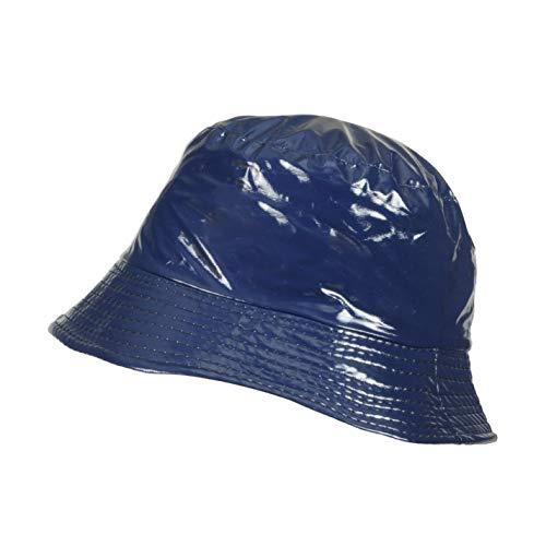 TOUTACOO, Bob Imperméable Aspect Ciré, Chapeau de Pluie, 13-bleu, Taille unique