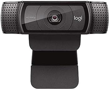 Logitech HD Pro Webcam C920 1080p Widescreen Video Calling and Recording  960-000764