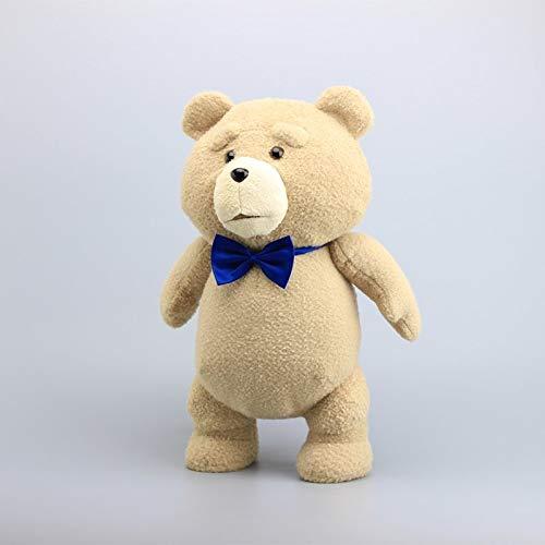 MIAOOWA Official Store 45cm Teddybär Ted Plüsch Spielzeug Mit Blauen Krawatte Piraten Teddy Weiche Gefüllte Puppe Spielzeug Kind Geschenk 45 cm Aa