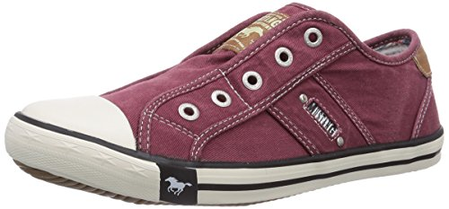 Mustang Damen 1099-401-55 Slipper, Rot (55 bordeaux), 41 EU