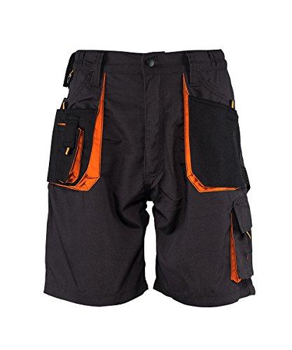 Emerton - Herren Shorts/kurzen Arbeitshosen - für den Sommer - Dunkelgrau EU60